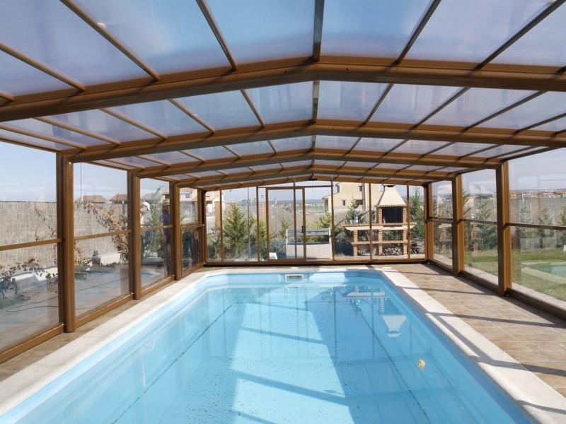 Cubiertas y cerramientos de piscinas en madrid y toda for Cubiertas para piscinas madrid