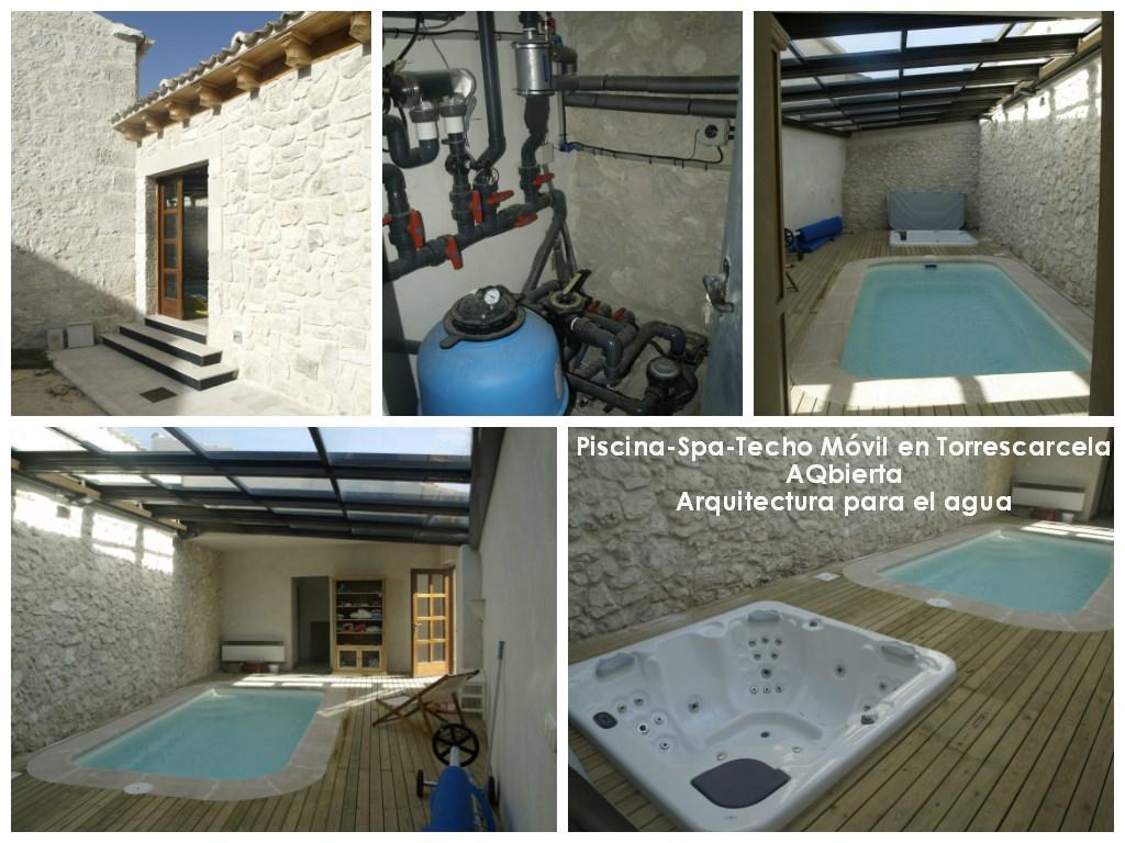 wellnes spa - Aqbierta - piscina - cerramiento